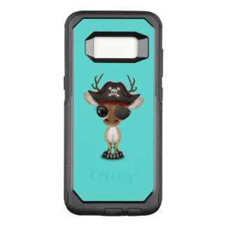 Cute Baby Deer Pirate OtterBox Commuter Samsung Galaxy S8 Case