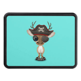 Cute Baby Deer Pirate Trailer Hitch Cover