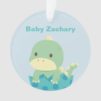 Cute Baby Dino Newly Hatched Newborn Ornament