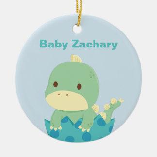 Cute Baby Dinosaur Newly Hatched Newborn Ornament