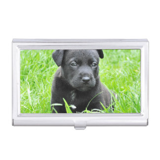 Cute Baby Dog Business Card Holders