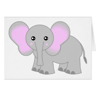 Cute Baby Elephant Card
