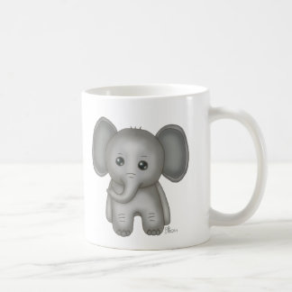Cute Baby Elephant Coffee Mug