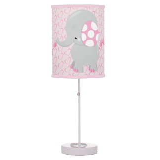 Cute Baby Elephant for Girl Table Lamp