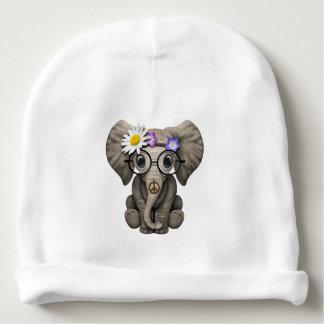 Cute Baby Elephant Hippie Baby Beanie