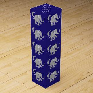 Cute Baby Elephant Imsomnia Sleep Elixir Wine Bottle Boxes
