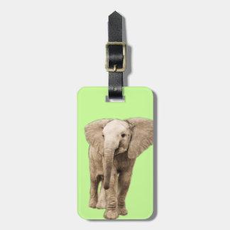 Cute Baby Elephant Luggage Tag