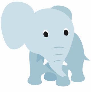 Cute Baby Elephant Photo Sculptures