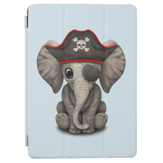 Cute Baby Elephant Pirate iPad Air Cover