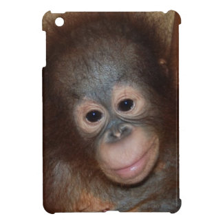 Cute Baby Face Primate iPad Mini Cover