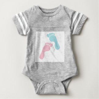 Cute Baby Feet Baby Bodysuit