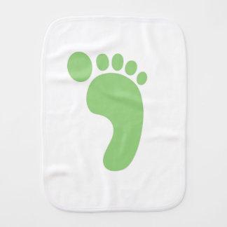Cute Baby Feet Burp Cloth