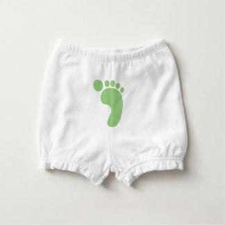 Cute Baby Feet Diaper Cover