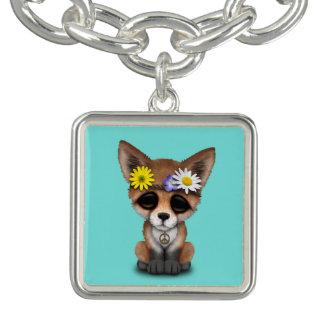 Cute Baby Fox Hippie Bracelet