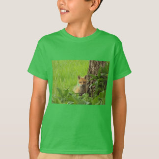 Cute baby fox in springtime photograph T-Shirt