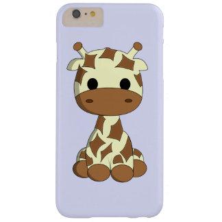Cute baby giraffe cartoon kids barely there iPhone 6 plus case