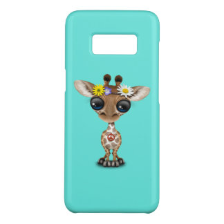 Cute Baby Giraffe Hippie Case-Mate Samsung Galaxy S8 Case