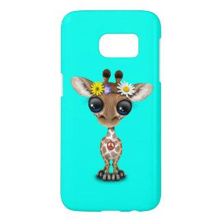 Cute Baby Giraffe Hippie Samsung Galaxy S7 Case