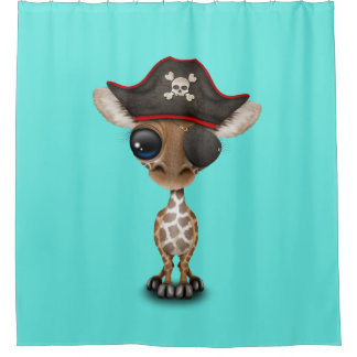 Cute Baby Giraffe Pirate