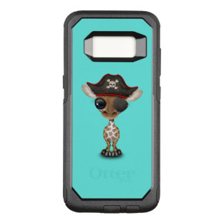 Cute Baby Giraffe Pirate OtterBox Commuter Samsung Galaxy S8 Case