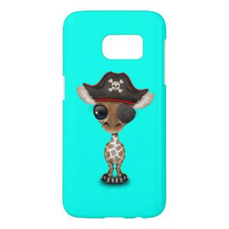Cute Baby Giraffe Pirate Samsung Galaxy S7 Case