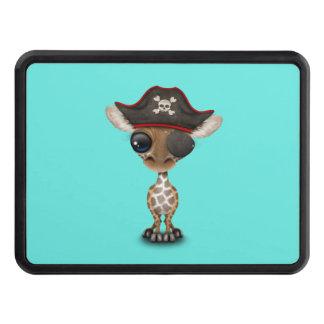 Cute Baby Giraffe Pirate Trailer Hitch Cover