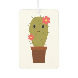 Cute baby girl cactus air freshener