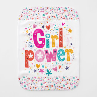 Cute Baby Girl Power Cloth