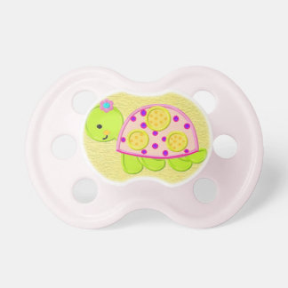 Cute Baby Girl Turtle Pacifier