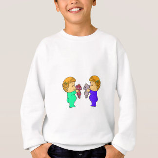Cute baby Girl twins Sweatshirt