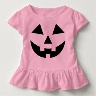 Cute Baby Girls Pink Pumpkin Halloween Costume Toddler T-shirt