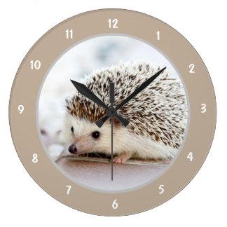 Cute Baby Hedgehog Clocks