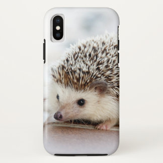 Cute Baby Hedgehog iPhone X Case