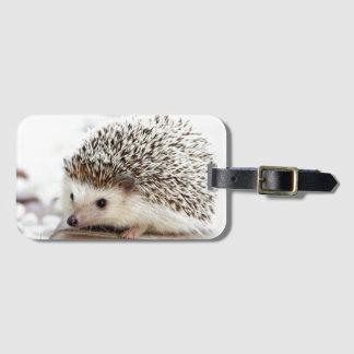 Cute Baby Hedgehog Luggage Tag