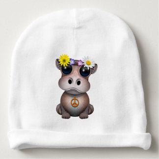 Cute Baby Hippo Hippie Baby Beanie