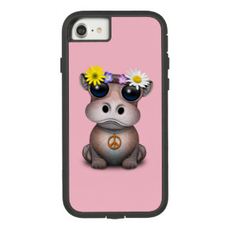 Cute Baby Hippo Hippie Case-Mate Tough Extreme iPhone 8/7 Case