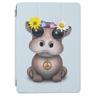 Cute Baby Hippo Hippie iPad Air Cover
