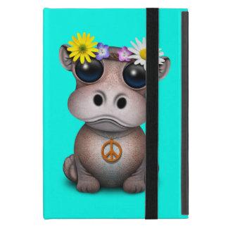Cute Baby Hippo Hippie iPad Mini Case