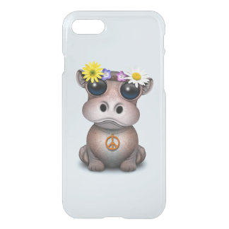 Cute Baby Hippo Hippie iPhone 8/7 Case