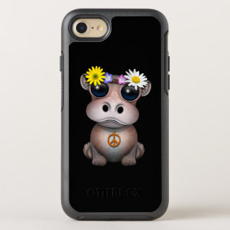 Cute Baby Hippo Hippie OtterBox Symmetry iPhone 8/7 Case