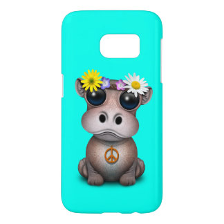 Cute Baby Hippo Hippie Samsung Galaxy S7 Case