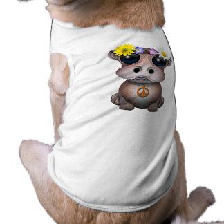 Cute Baby Hippo Hippie Shirt
