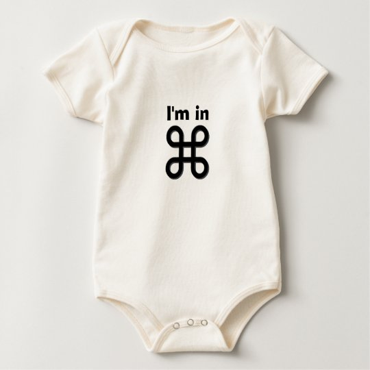 Cute Baby is in CMD (Of Course)! Baby Bodysuit
