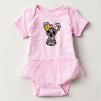 Cute Baby Koala Hippie Baby Bodysuit
