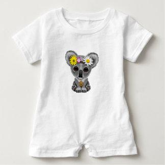 Cute Baby Koala Hippie Baby Romper
