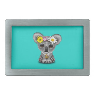 Cute Baby Koala Hippie Belt Buckle