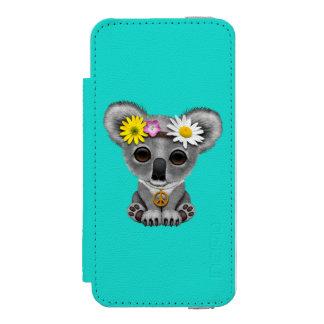 Cute Baby Koala Hippie Incipio Watson™ iPhone 5 Wallet Case