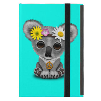 Cute Baby Koala Hippie iPad Mini Cover