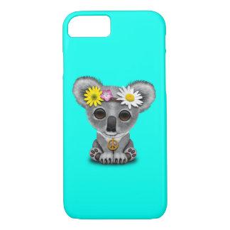 Cute Baby Koala Hippie iPhone 8/7 Case
