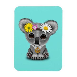 Cute Baby Koala Hippie Magnet